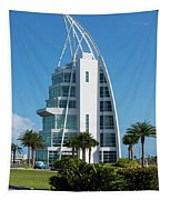 Exploration Tower Florida Tapestry