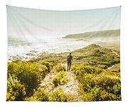 Exploring The West Coast Of Tasmania Tapestry