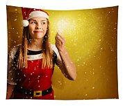 Explosive Christmas Gift Idea Tapestry