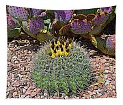 Expressionalism Budding Cactus Tapestry