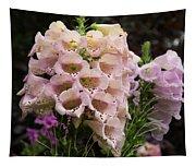 Exquisite Elegant English Foxgloves Tapestry