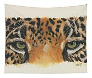 Jaguar Gaze Tapestry