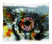 Eye In Hands 001 Tapestry