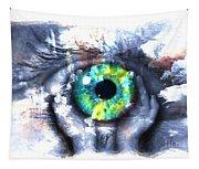Eye In Hands 002 Tapestry