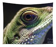 Eye Of Lizard Tapestry