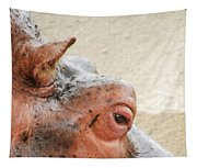 Eye Of The Hippo Tapestry