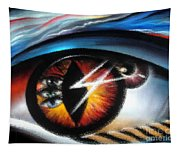 Eyes Of Immortal Soul Tapestry