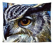 Eyes Of Owls No.25 Tapestry