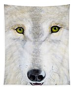Eyes Of The Wolf Tapestry