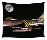 F-86 And The Moon Tapestry