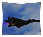 F15 Eagle In Afterburner Tapestry