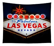 Fabulous Las Vegas Sign Tapestry