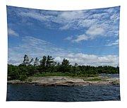 Fabulous Northern Summer - Georgian Bay Island Landscape Tapestry