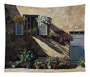 Facciata In Ombra Tapestry