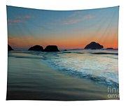 Face Rock Sundown Tapestry