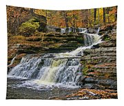 Factory Falls - Childs State Park Tapestry