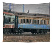 Faded Glory - B And O Railroad Car Tapestry