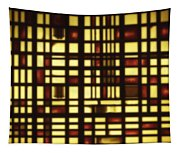Faded Rectagles Tapestry