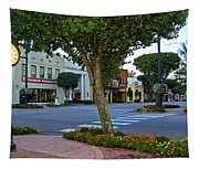Fairhope Ave With Clock Tapestry