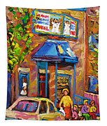 Fairmount Bagel Fairmount Street Montreal Tapestry