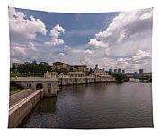 Fairmount Water Works And Philadelphia Museum Of Art Tapestry