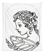 Fairy Cameo Tapestry