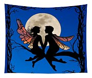 Fairy Couple Tapestry