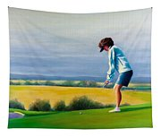 Fairy Golf Mother Tapestry