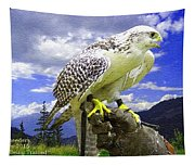 Falcon Being Trained H A Tapestry