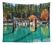 Fall At Skunk Harbor Lake Tahoe Tapestry