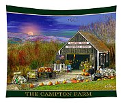 Fall At The Campton Farm Tapestry