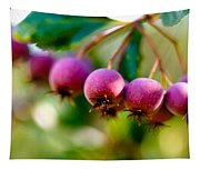 Fall Berries Tapestry