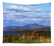 Fall Colors At Lake Carmi Tapestry