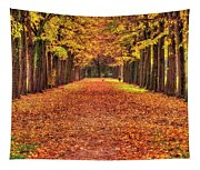 Fall Colors Avenue Tapestry