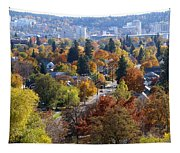 Fall Colors In Spokane From The Post Street Hill Tapestry