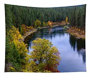 Fall Colors On The River Tapestry