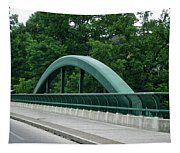 Fall Creek Gorge Bridge Cornell University Ithaca New York Tapestry