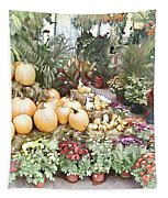 Fall Decorating At The Market Tapestry