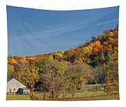 Fall Farmyard Tapestry