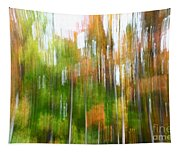 Fall Forest Colors Tapestry