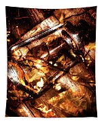 Fall In Fire Tapestry
