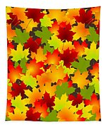 Fall Leaves Quilt Tapestry
