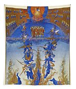 Fall Of Rebel Angels Tapestry
