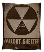 Fall Out Shelter Tapestry