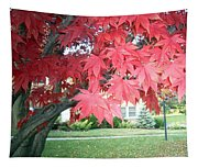 Fall Reds Tapestry