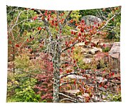 Fall Tree With Intense Colors Tapestry