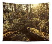 Fallen Tree In Foliage Tapestry