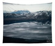 Famous Mountain Askja In Iceland Tapestry