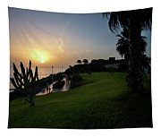 Fanabe Evening 1 Tapestry