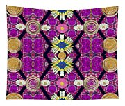Fantasy Chevron In The Magic Forrest Tapestry